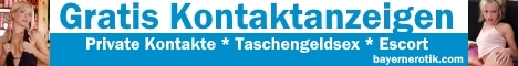 Gratis Kontaktanzeigen aus Bayern